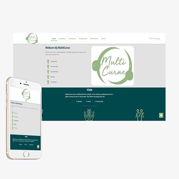 Webdesign Multicurae_BVW Design