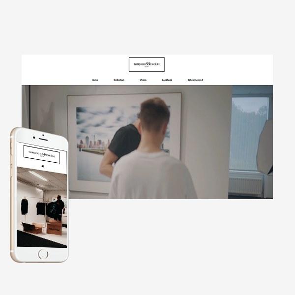 Webdesign Toujourssincere_BVW Design